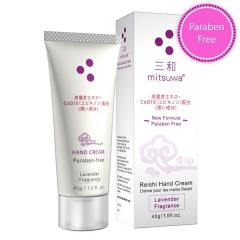 Mitsuwa Reishi Hand Cream 45g