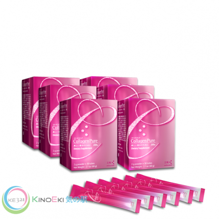 Mitsuwa Collagen Pure 6-Box Pack