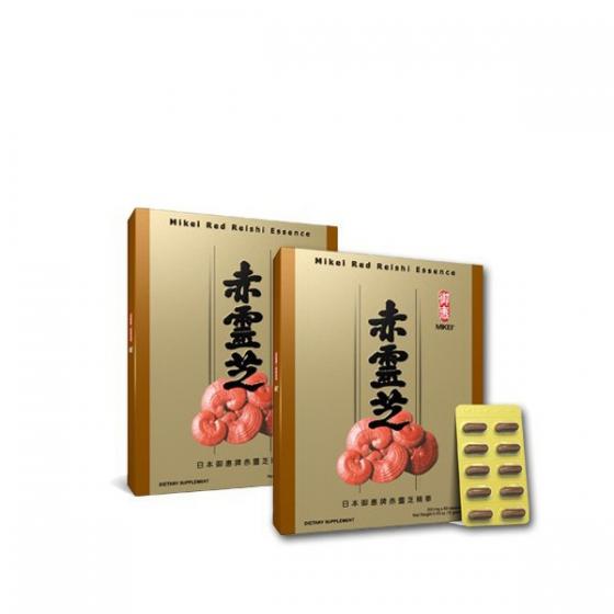 Mikei Red Reishi Essence 2-Box Pack + FREE 2 Reishi Hand Cream 45g
