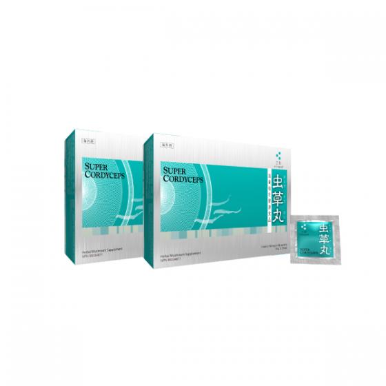 Mitsuwa Super Cordyceps 2-Box with 1 FREE box of Mitsuwa Reishi Body Cream