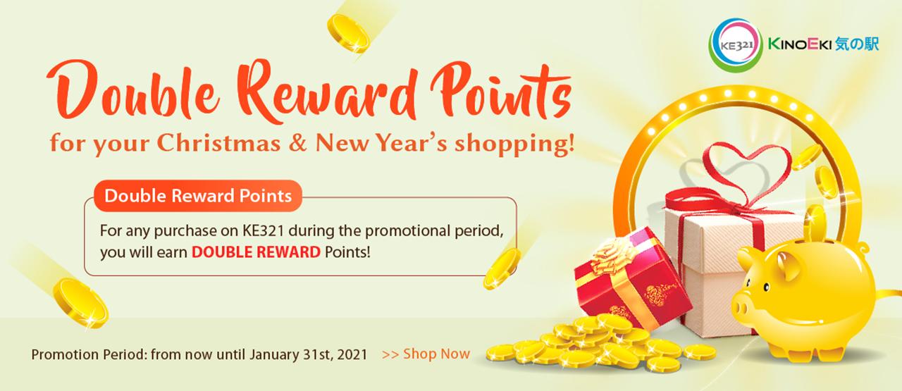 Double Points Reward